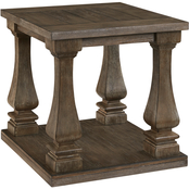 Signature Design by Ashley Johnelle Rectangular End Table