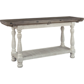 Signature Design by Ashley Havalance Flip Top Sofa Table