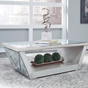 Signature Design by Ashley Fanmory Rectangular Cocktail Table
