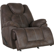 Signature Design by Ashley Warrior Fortress Rocker Recliner