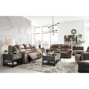 Signature Design by Ashley Stoneland Reclining Sofa, Loveseat and Recliner Set