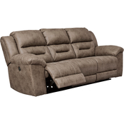 Signature Design by Ashley Stoneland Power Reclining Sofa