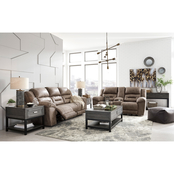 Signature Design by Ashley Stoneland 2 pc. Power Reclining Sofa and Loveseat Set