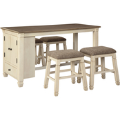 Signature Design by Ashley Bolanburg 5 pc. Counter Dining Set