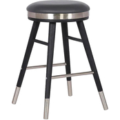 Armen Living Clara Backless Barstool