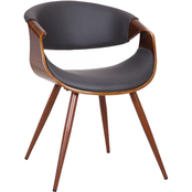 Armen Living Butterfly Mid Century Dining Chair