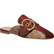 COACH Sullivan C Buckle Signature Loafers/Slides