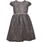 Bonnie Jean Little Girls Lace Dirndl Dress