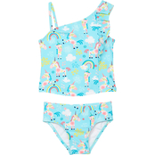 Kiko & Max Infant Girls Unicorn 2 pc. Tankini Set