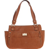 Bueno of California Veg Tan Satchel