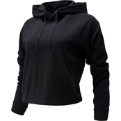 New Balance Relentless Crop Hoodie