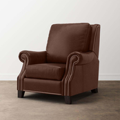 Bassett Pierce Leather Recliner with Power