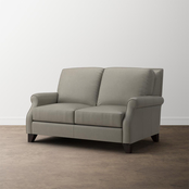 Bassett Greyson Leather Loveseat