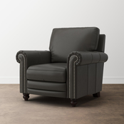 Bassett Jackson Leather Recliner with Power