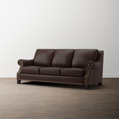 Bassett Pierce Leather Sofa