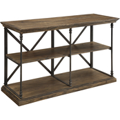 Coast to Coast Accents Corbin 60 in. Console Bookcase