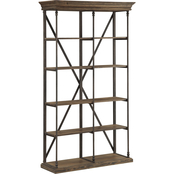 Coast to Coast Accents Corbin Double Bookcase