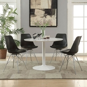 Coaster Rochelle Round Metal Dining Table