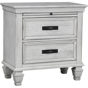 Coaster Franco 2 Drawer Nightstand