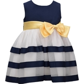Bonnie Jean Infant Girls Ribbon Dress