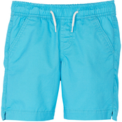 Pony Tails Little Girls Cotton Twill Pull On Shorts