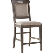 Benchcraft Johurst Upholstered Counter Stool 2 pk.
