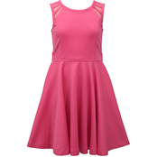 Bonnie Jean Little Girls Pink Skater Dress