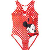 Disney Little Girls Minnie Mouse 1 pc. Swimsuit
