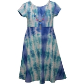 Bonnie Jean Little Girls Tie Dye Knit Dress