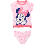 Disney Infant Girls Minnie Mouse 2 pc. Swimsuit