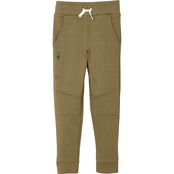 Buzz Cuts Boy French Terry Pull On Jogger Pants