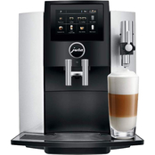 Jura S8 Automatic Coffee Maker Moonlight Silver