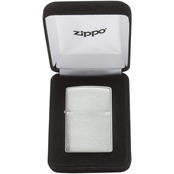 Zippo Brushed Sterling Silver Lighter