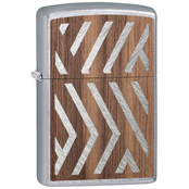 Zippo Walnut Emblem Wood Chuck Lighter