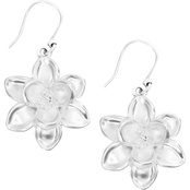 Lucky Brand Floral Dangle Earrings