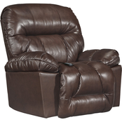Best Home Furnishings Retreat Leather Power Wall Hugger Recliner