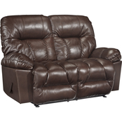 Best Home Furnishings Retreat Leather Reclining Loveseat