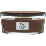 WoodWick Humidor Ellipse Glass Candle