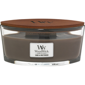 WoodWick Sand & Driftwood Ellipse Glass Candle