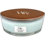 WoodWick Pure Comfort Ellipse Glass Candle