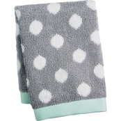 Martha Stewart Collection Cotton Dot Spa Fashion Washcloth
