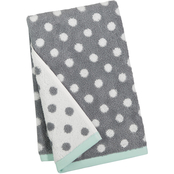 Martha Stewart Collection Cotton Dot Spa Fashion Hand Towel