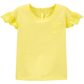 OshKosh B'gosh Toddler Girls Eyelet Jersey Top