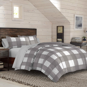 IZOD Buffalo Plaid Reversible Comforter Set