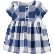 OshKosh B'gosh Infant Girls Checkered Dress
