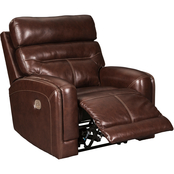 Signature Design by Ashley Sessom Power Recliner with Adjustable Headrest