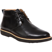 Deer Stags Walkmaster Plain Toe Memory Foam Leather Classic Chukka Boots