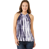JW Braid Neck Tie Dye Tank