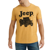 Lucky Brand Jeep Burnout Tee