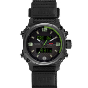 MTM Special Ops Men's Air Stryk II Ballistic Velcro I 45mm Watch AS2BCGDBV1